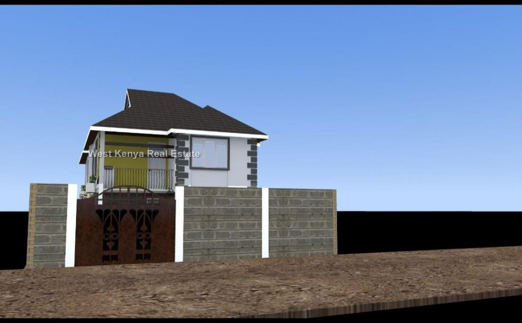 cost of building a three bedroom house in Kisumu